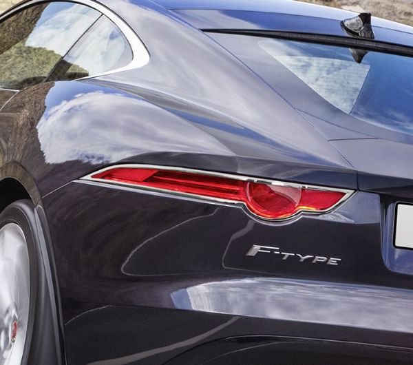 F-Type Chrome Rear Light Surrounds